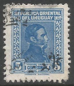 URUGUAY 479 VFU Z4506-3