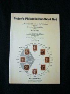 PICTON'S PHILATELIC HANDBOOK 1 NUMERAL CANCELLATIONS PART 1 by HEWLETT