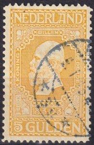 Netherlands #100  F-VF Used  CV $40.00  (Z1217)