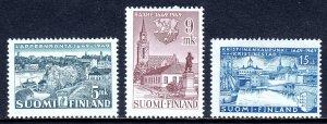 Finland - Scott #285-287 - MH - Minor creasing - SCV $4.85