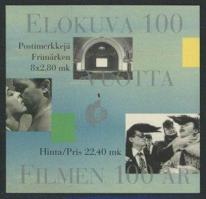Finland 1996 22.40mk Cinema booklet Sc# 1003a NH