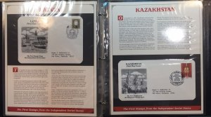 Russia First Day Covers (7) in album 1991