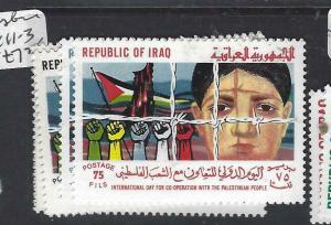 IRAQ (P2205B) PALESTINE  SG 1411-3   MNH