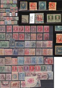 Argentina Stamp collection lot with some classic interesting items used valuable