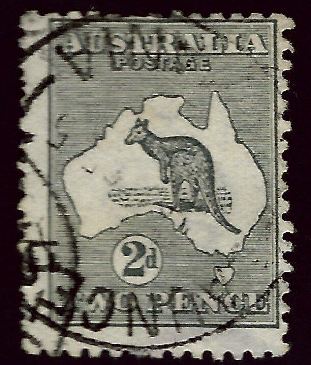 Australia SC#3 Used F-VF...A very Popular Country!!