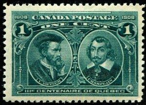 HERRICKSTAMP CANADA Sc.# 97 Scott Retail $75.00 Mint NH