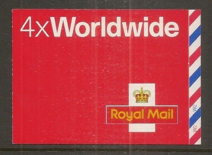GB 2004 4 x Worldwide MJ2 Barcode Booklet