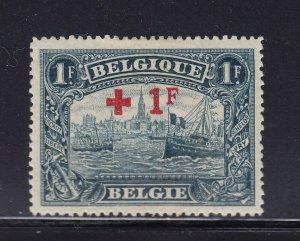 Belgium Scott # B44 VF OG mint lightly hinged  cv $ 35  ! see pic !