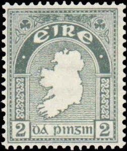 Ireland #68, Incomplete Set, 1922-1923, Never Hinged
