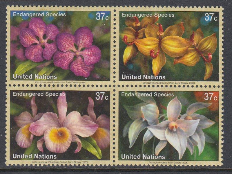 UN New York 879a Orchids MNH VF