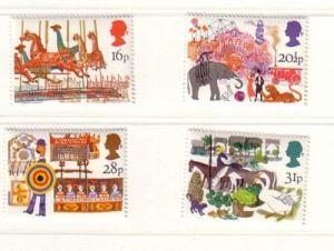 Great Britain Sc 1031-4 1983 British Fairs stamp set mint NH