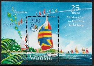Vanuatu #861a MNH S/Sheet - Musket Cove to Port Vila