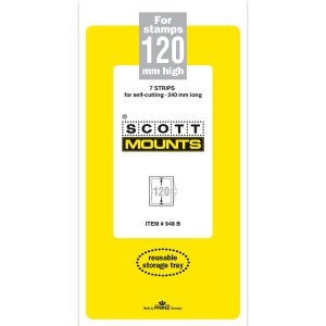 Scott Mount 120 x 240 mm  (Scott 948 Clear)