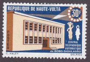 Burkina Faso 190 Automatic Telephone Office 1968