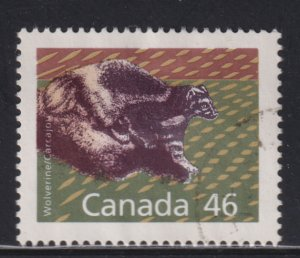 Canada 1172A Wolverine 1990