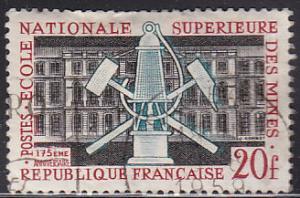 France 914 Hinged Used 1959 Miners Tools & School