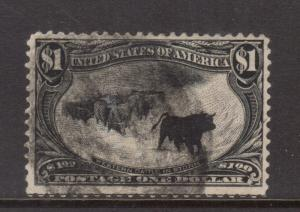 USA #292 Used **With Certificate**