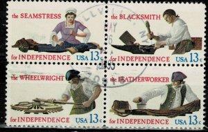 USA 1976 Hand Skills Used