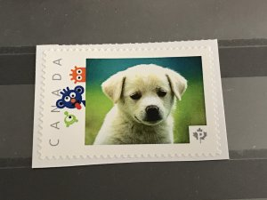 Canada Post Picture Postage Puppy Dog animal #1