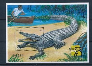[35349] Palau 1999 Reptiles Crocodile MNH Sheet