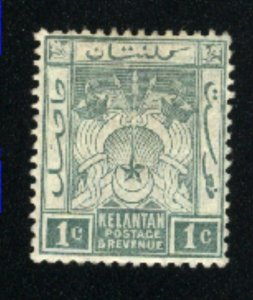 Malaya-Kelatan #1   -2  Mint  1911-15 PD