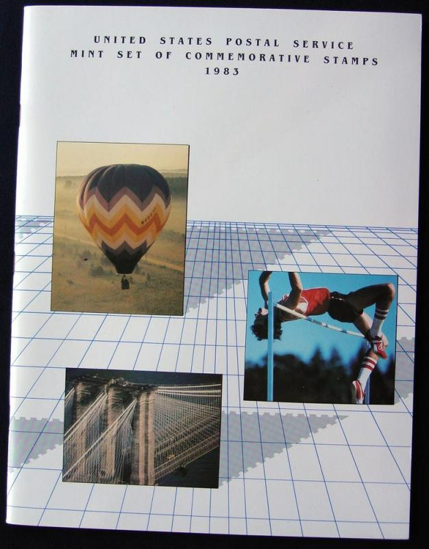 1983 USPS Commemorative Stamp Album WITHOUT stamps L10