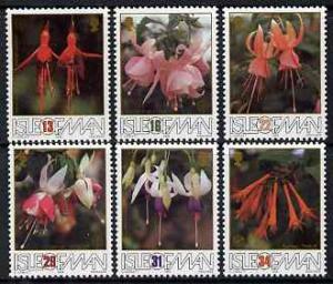 Isle of Man 1988 50th Anniversary of British Fuchsia Soci...