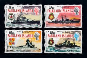 [71947] Falkland Islands 1974 Sea Battle of River Plate Ship  MNH