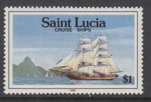St Lucia 978 Ship MNH VF