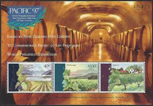 New Zealand #1433a MNH Souvenir Sheet