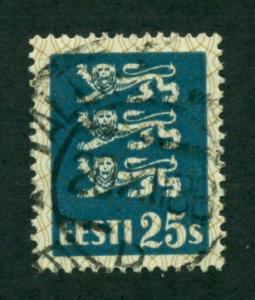 Estonia 1935 #101 U SCV(2018)=$1.75