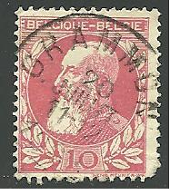 Belgium #85, King Leopold, Used**-