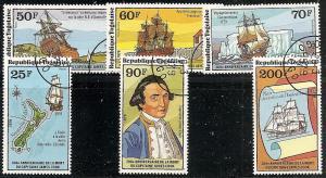 Togo 1016-17 Used 1978 Capt.James Cook