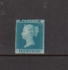 Great Britain #4a (SG #13) Mint **With Certificate**