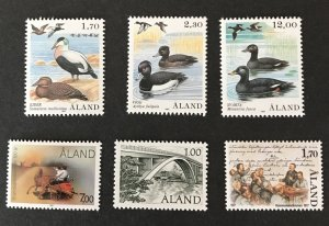 Finland-Aland Islands 1987 Year set MNH, SCV $26.50