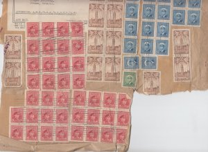 RARE multiple airmail Special Delivery 86 stps ohms military 1944 Canada cover