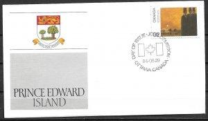 1984 Canada 1022 Canada Day: Prince Edward Island FDC