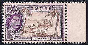 Fiji #152  3p Loading Copra, mint OG NH VF