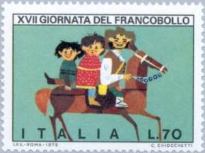 Italy 1975 Stamp Day MNH**