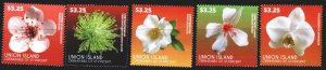 Saint Vincent and the Grenadines. 2015. 810-14. Flowers, flora. MNH.