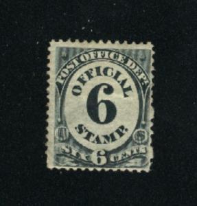 USA #O50  1 Mint  1873 PD
