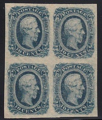 CSA 12, M, OGnh, VF/XF, Keatinge & Ball, Block of 4, SCV ...