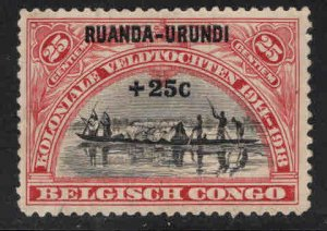 Ruanda-Urundi Scott B2 Mint No Gum, MNG stamp