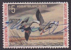 United States # RW39, Migratory Bird Hunting Stamp, used, 1/2 Cat.