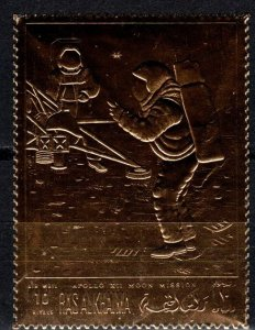 Ras Al Khaima 1st Step On The Moon Gold (X5521)