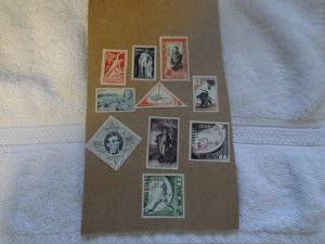 MONACO STAMPS LOT. 10 STAMPS # 1