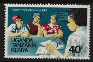 KUT 1974 World Population Year 40c (1/4) USED