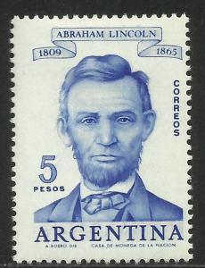 Argentina 1960 Scott# 712 MH