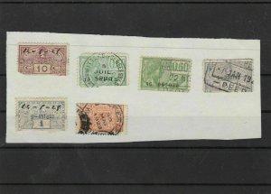 belgium revenue stamps ref 7344