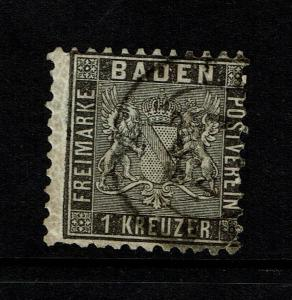 Baden SC# 10, Used, some minor creasing - S8525